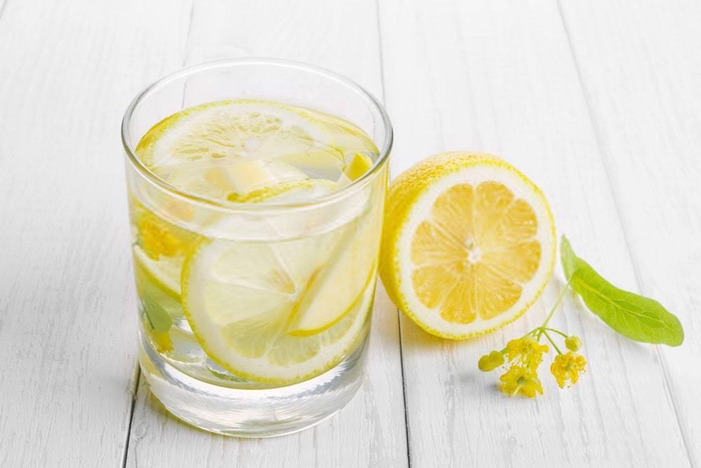 Limon Suyu ve Ihlamur Çiçeği
