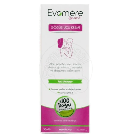 Evomere Femme Göğüs Ucu Kremi